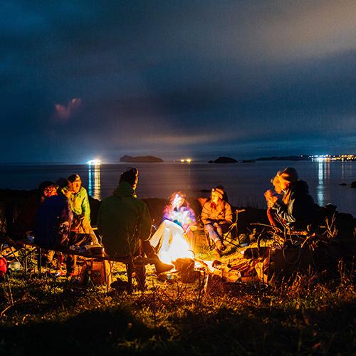 Edinburgh Microadventure: Coastal Wild Camping + Fireside Feast – 3rd/4th June