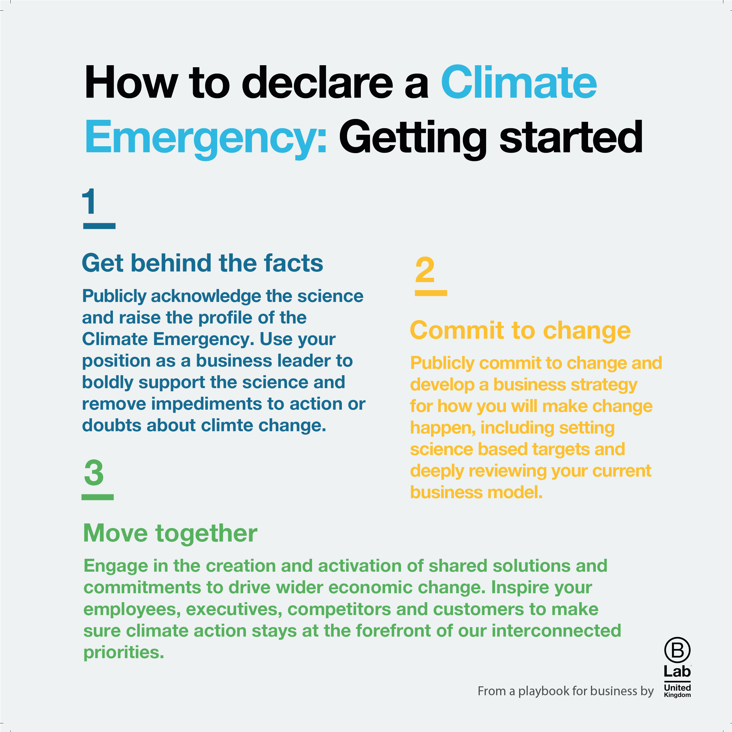 Climate Emergency Playbook For Business